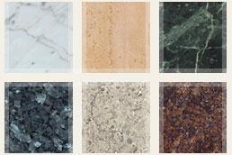 Marble & Granite samples